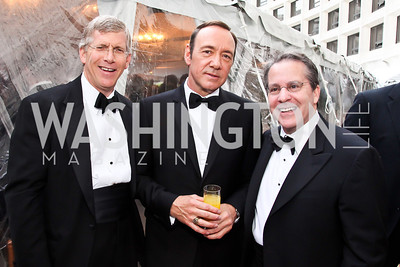 Acting Sec. of Energy Daniel Poneman, Kevin Spacey, Gene Sperling. Photo by Tony Powell. WHC Pre Parties. Hilton Hotel. April 27, 2013
