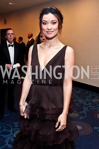 Actress Olivia Wilde. Photo by Tony Powell. WHC Pre Parties. Hilton Hotel. April 27, 2013