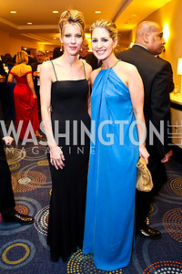 Elle Editor-in-chief Robbie Myers, Marissa Mitrovich. Photo by Tony Powell. WHC Pre Parties. Hilton Hotel. April 27, 2013