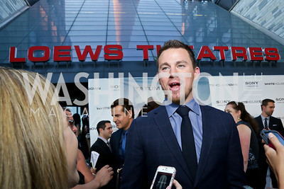 "Channing Tatum. Photo by Tony Powell. ""White House Down"" red carpet. AMC Loews Georgetown. June 22, 2013"