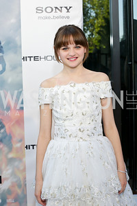 "Joey King. Photo by Tony Powell. ""White House Down"" red carpet. AMC Loews Georgetown. June 22, 2013"