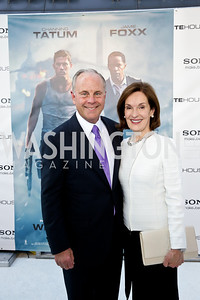 "Mack and Donna McLarty. Photo by Tony Powell. ""White House Down"" red carpet. AMC Loews Georgetown. June 22, 2013"