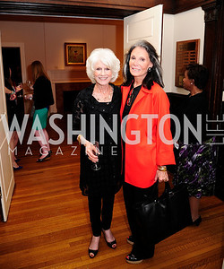 Diane Rehm,  Meryl Comer,May 20,2013,Women Against Alzheimers Reception at the Philiips Collection,Kyle Samperton
