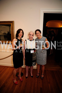 Jill Lesser,Elise Lefkowitz,Jill Granader,May 20,2013,Women Against Alzheimers Reception at the Philiips Collection,Kyle Samperton