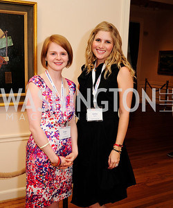 Ginger Lackey, Ashley Taylor Bronczek,May 20,2013,Women Against Alzheimers Reception at the Philiips Collection,Kyle Samperton