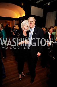 Diane Rehm, George Vradenburg,May 20,2013,Women Against Alzheimers Reception at the Philiips Collection,Kyle Samperton