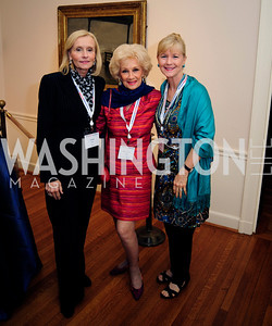 Carol Seay,Billie Leigh Rippey,Paige Rippey Locke,May 20,2013,Women Against Alzheimers Reception at the Philiips Collection,Kyle Samperton