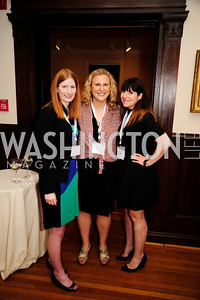 Liz Plant,Kathryn Frazier,Katie Andriulli,May 20,2013,Women Against Alzheimers Reception at the Philiips Collection,Kyle Samperton