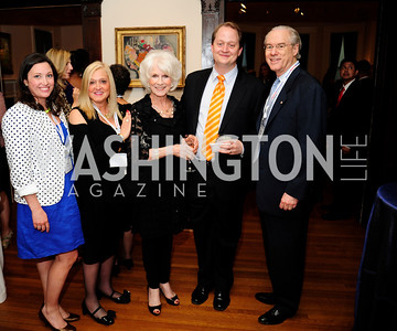Sara Allen Abbott,Trish Vradenburg,Diane Rehm, Shane Harris,George Vradenburg,May 20,2013,Women Against Alzheimers Reception at the Philiips Collection,Kyle Samperton