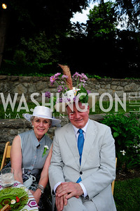 Betsy Holleman,Tim Thomas,May 15,2013,Woodrow Wilson House 25th Perennial Garden Party,Kyle Samperton