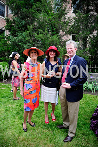 Dorothy Woodcock Tisha Jepson,Jim Seevers,May 15,2013,Woodrow Wilson House 25th Perennial Garden Party,Kyle Samperton