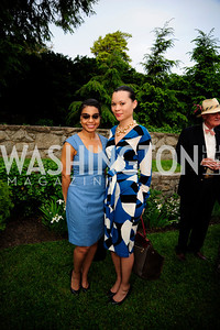 Jennifer Fisher,McClain Bryant,May 15,2013,Woodrow Wilson House 25th Perennial Garden Party,Kyle Samperton