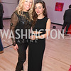 Maggie O'Neill, Sophie Blake, Washington Life Magazine hosts the 8th Annual Young and the Guest List party at the Carnegie Library.  Photo by Ben Droz.