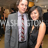 Michael Clements, Anchyi Wei, Washington Life Magazine hosts the 8th Annual Young and the Guest List party at the Carnegie Library.  Photo by Ben Droz.