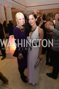 Ali McLaughlin,  Karin Tanabe, Washington Life Magazine hosts the 8th Annual Young and the Guest List party at the Carnegie Library.  Photo by Ben Droz.