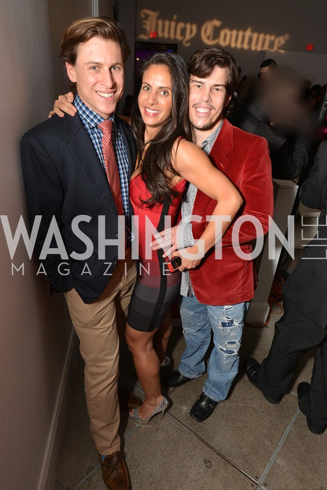 Michael Haft, Pari Bradlee, Quinn Bradlee, Washington Life Magazine hosts the 8th Annual Young and the Guest List party at the Carnegie Library.  Photo by Ben Droz.