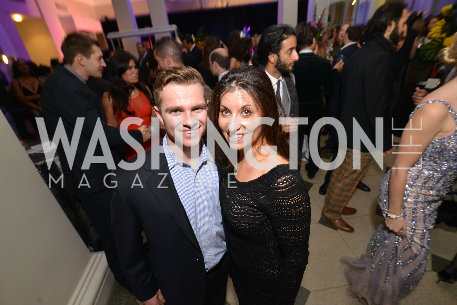 Michelle Desrosiers, Washington Life Magazine hosts the 8th Annual Young and the Guest List party at the Carnegie Library.  Photo by Ben Droz.