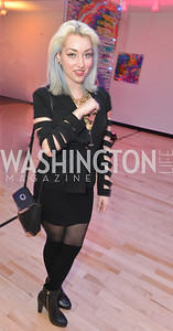 Nadia Tulin, Washington Life Magazine hosts the 8th Annual Young and the Guest List party at the Carnegie Library.  Photo by Ben Droz.