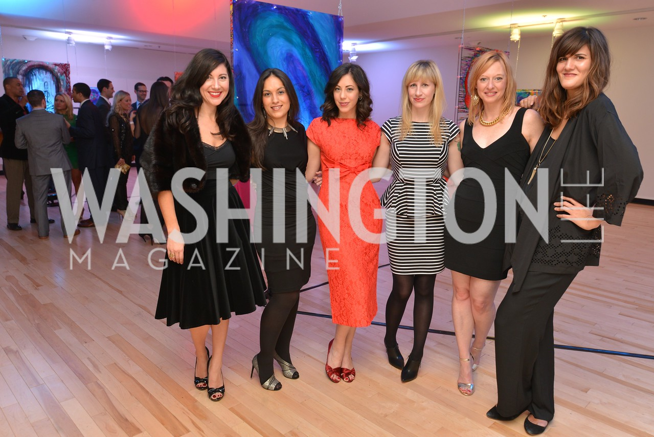 Kristen Guiter, X Rachel Cothran, Jenn Tisdale, X Svetlana Legetic, Washington Life Magazine hosts the 8th Annual Young and the Guest List party at the Carnegie Library.  Photo by Ben Droz.