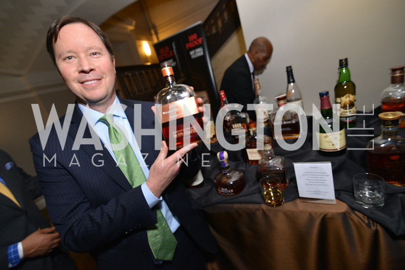 David Culver, Distilled Spirits Council, Washington Life Magazine hosts the 8th Annual Young and the Guest List party at the Carnegie Library.  Photo by Ben Droz.
