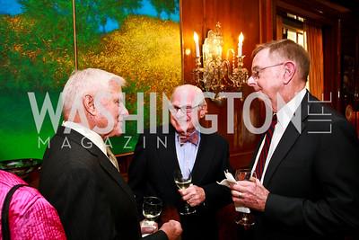 Joseph Franklin, Milton Corn, Lee Gunn. Photo by Tony Powell. Young Concert Artists Gala Dinner. Indian Ambassador's residence. May 1, 2013