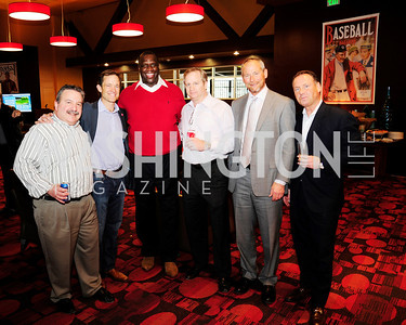 Norman Antin,Mike Manatos,Dexter Manley, John Haas Adam Chafetz,Don Caron.March 21,2013,Zero Prostate Cancer Night Out at Nationals Park,Kyle Samperton