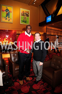 Dexter Manley, Duke Rollins,March 21,2013,Zero Prostate Cancer Night Out at Nationals Park,Kyle Samperton