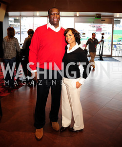Dexter Manley,Lydia Manley,March 21,2013,Zero Prostate Cancer Night Out at Nationals Park,Kyle Samperton