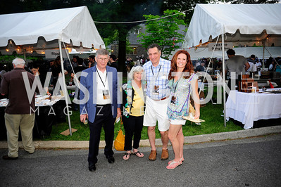 Jim Schroeder,Susan Perry,Mark Handwerger,Kristin Handwerger,May 16,2013 .Zoofari,Kyle Samperton