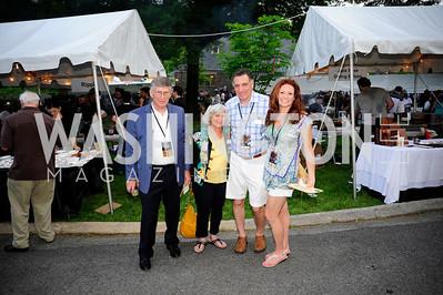 Jim Schroeder,Susan Perry,Mark Handwerger,Kristin Handwerger,May 16,2013 .Zoofari,Kyle Samperton