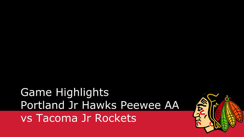 Game Highlights from the 1-26-2013 game against the Tacoma Jr Rockets.