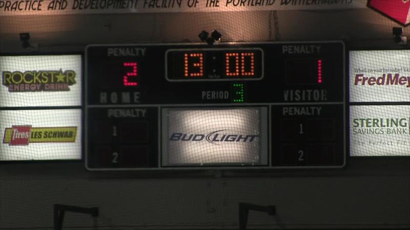 1/27/2013 vs Tacoma 3rd Period Part 1