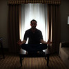 "Students + Stress + Winter Conference = A little ""light"" Meditation"