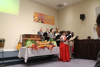 2014 추수감사 및 세례