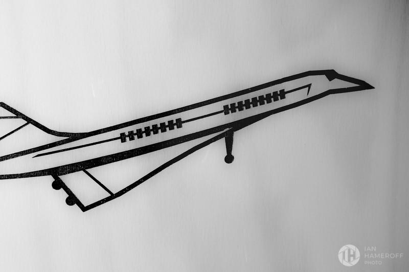 A Wooden Concorde