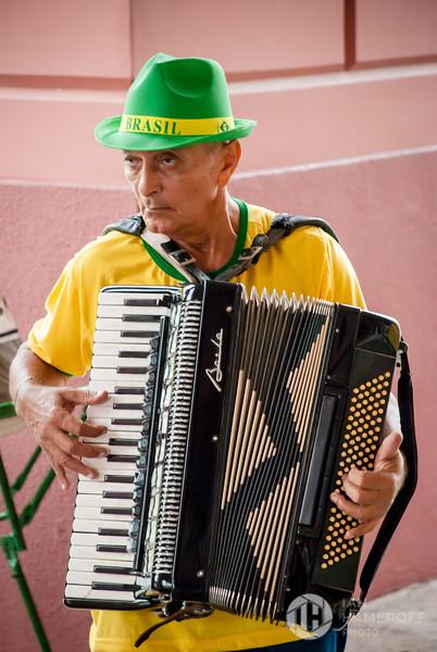 Brasileiro Accordionist