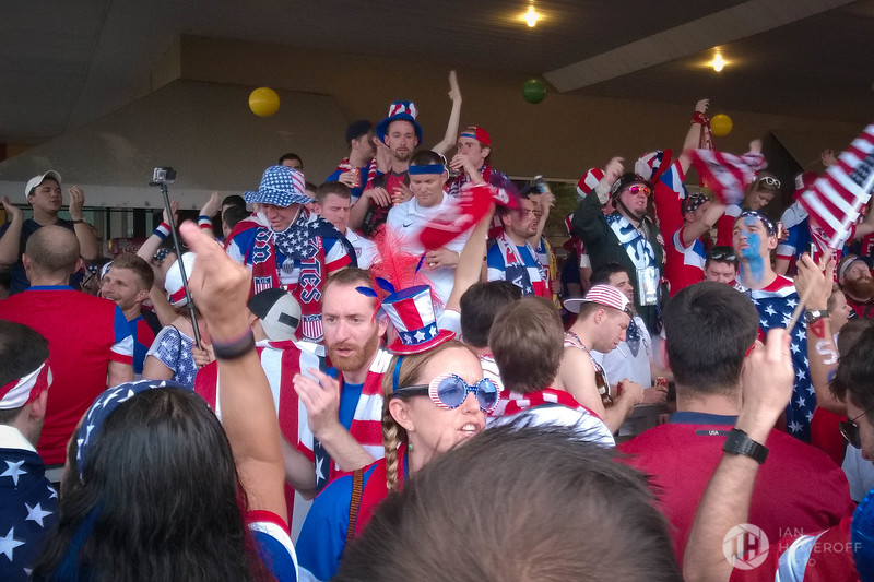 The American Outlaws Pre-Match Chants