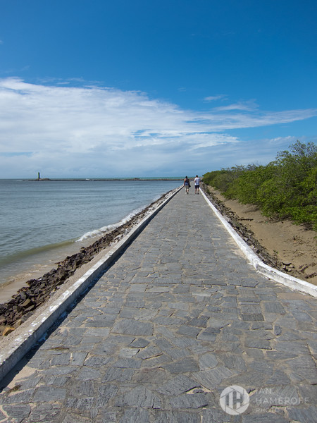 The Walkway to the Fort