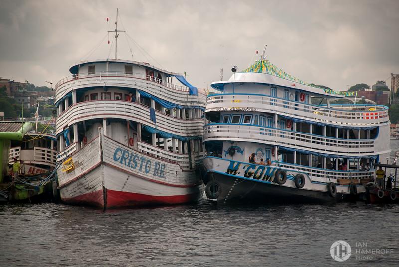 Ferries Along the Amazon