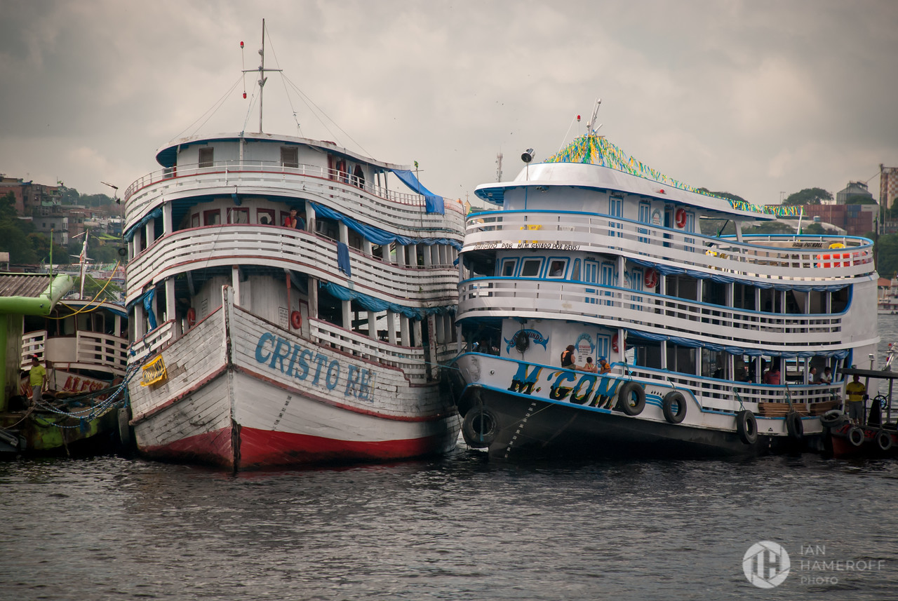 Ferries Along the Amazon