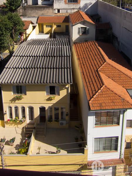 Houses Along Rua Simpatia