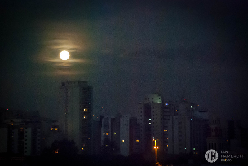 Moon Over São Paulo