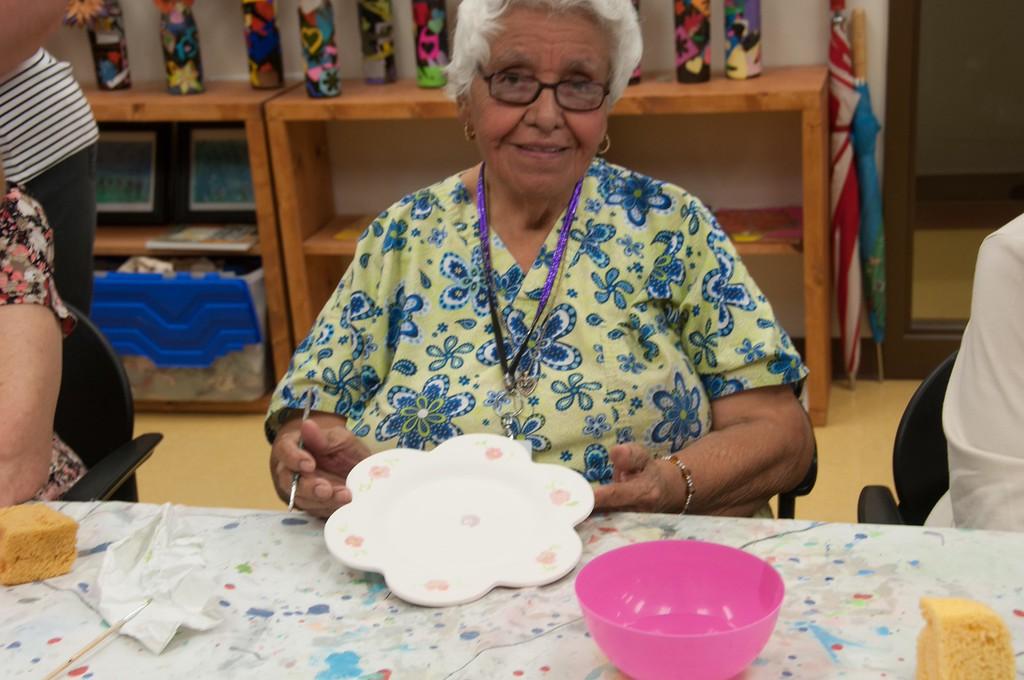 2014 0616 Mamie George Ceramics