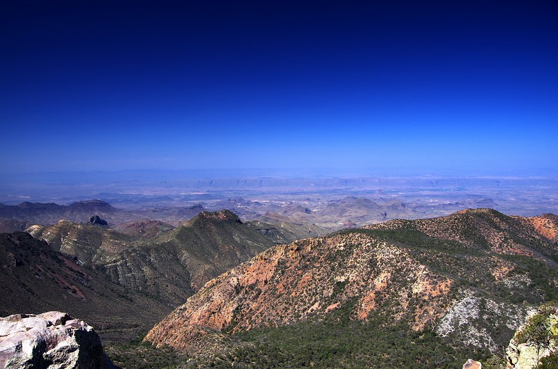 Chisos Mountains Big Bend National Park Texas