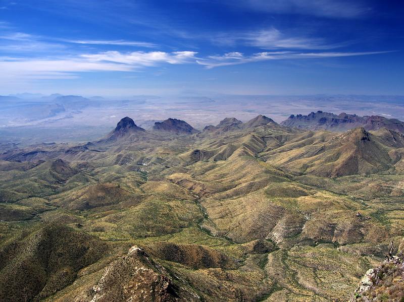 Chisos Mountains Big Bend National Park Texas