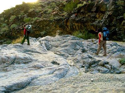 Water worn rock