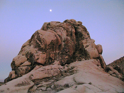 Painted Rock Old Woman Mountains