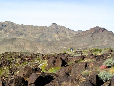 Ascending North Mesa