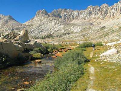 The Miter & Rock Creek trail