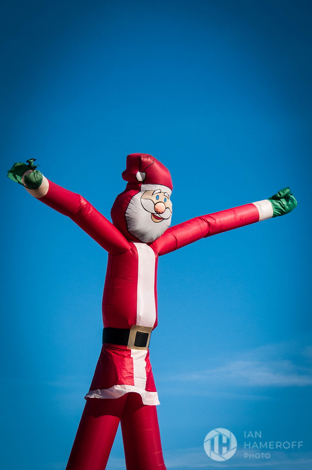 An Inflated St. Nick